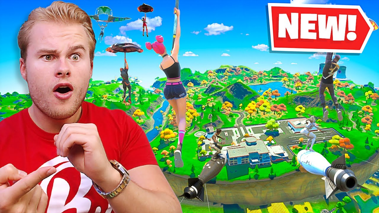 *NEW* EEN MEGA VLIEGEND EILAND! PURE CHAOS! ? - Fortnite Battle Royale (Nederlands)