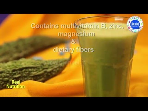 Health Benefit for bitter gourd (karela) helps to reduced your body fat juice best in winter season