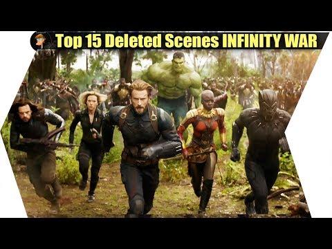 Avengers INFINITY WAR-- Top 15 DELETED &...