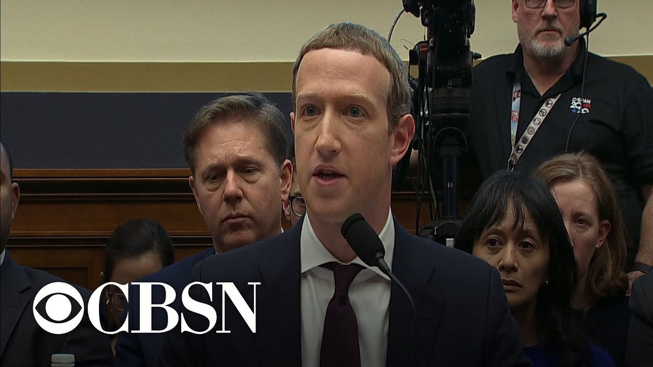 Lawmakers grill Mark Zuckerberg on political ads, election security
