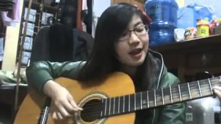 Cô gái vừa đàn vừa hát 'Người tình mùa đông' cực hay(gây sốt cư dân mạng)