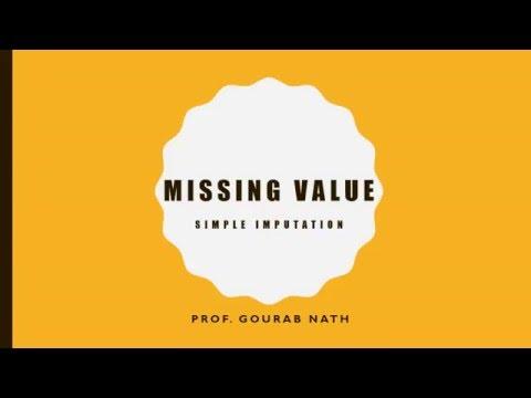 Missing Value - Simple Imputation