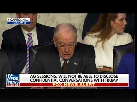WOW! AG Sessions Says Rosenstein Can Investigate Himself in Uraniam One Scandal
