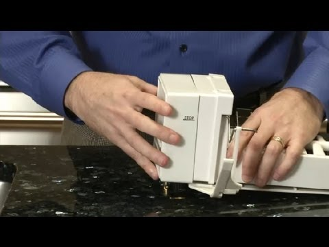 How Do I Adjust an Icemaker? : Home Appliances Ice Maker Wiring Diagram M on