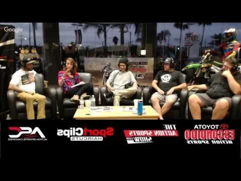 The Action Sport Show with SX Legend Josh Hansen and Pro Cyclist Jon Hornbeck