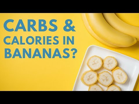 How Many Calories And Carbs In Bananas