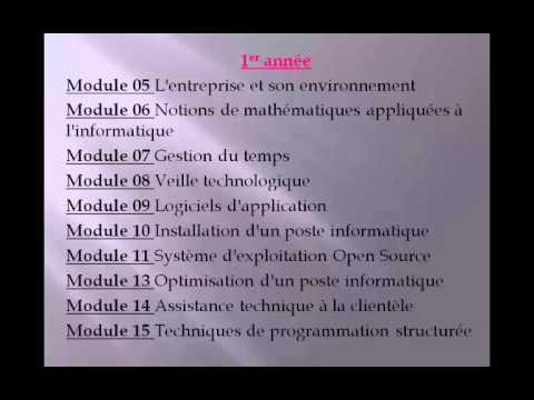 modules ofppt