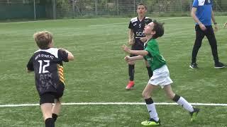 Foot, match de football, PAFC contre Puyricard, u10, avec de nombreux buts marqués