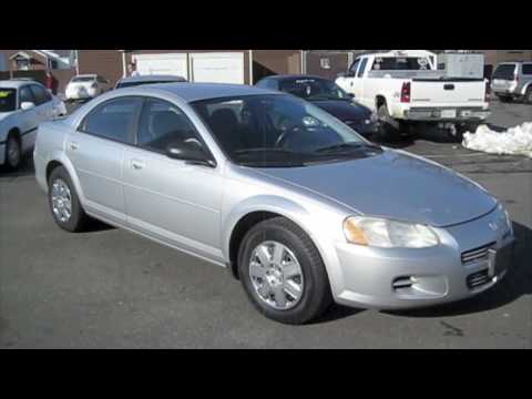 2002 Dodge Stratus SE Start Up, Engine, and Full Tour