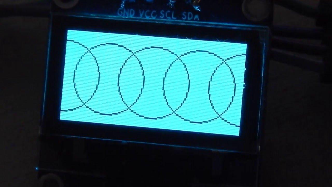 SSD1306 0 96 oled stm32