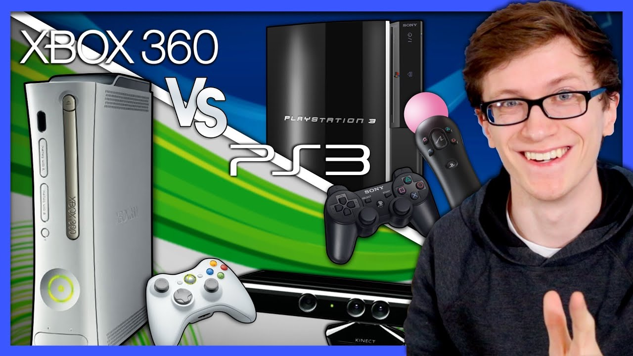 Xbox 360 vs. PlayStation 3 | Battle of a Generation - Scott The Woz