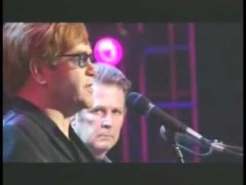 ELTON JOHN & BRIAN WILSON - Wouldn't It Be Nice (Live, 2001)