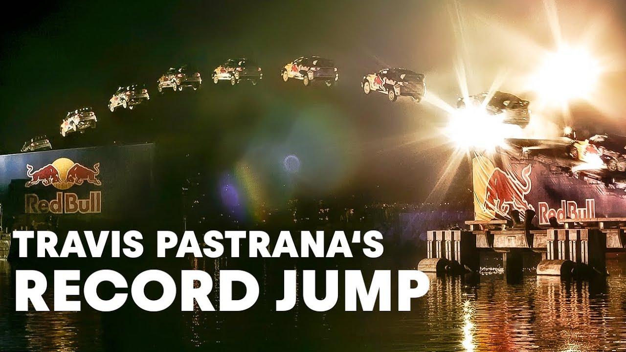 Travis Pastrana Jumps 269 Feet In Rally Car Hd Youtube