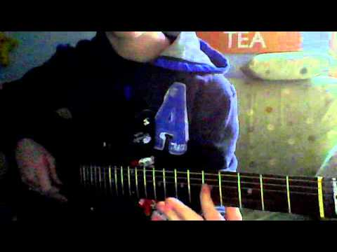 How to play C power chord - YouTube