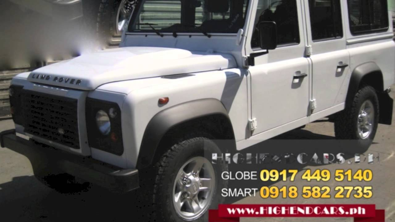 2013 Land Rover Defender 110 Suv Diesel Philippines Www