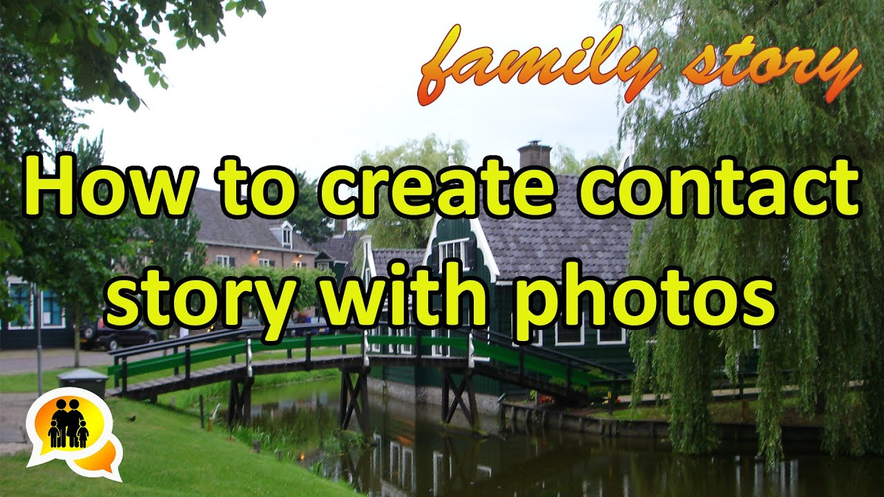 how to create a photo story