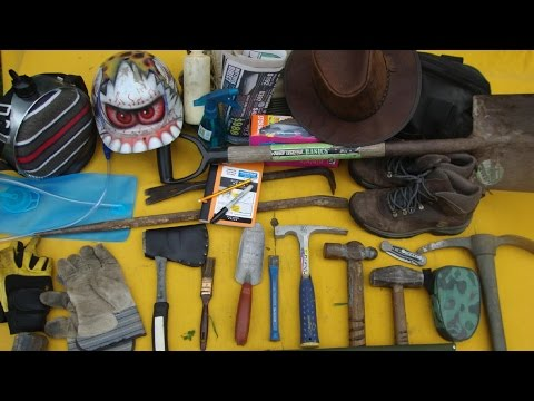 How To Fossil Hunt: Tools Of The Trade