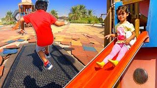 Dia das Crianças no Parquinho com Pula Pula Esconde Pega e Escorregador Infantil