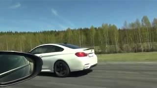 [4k] Lexus RC-F vs BMW M4 DKG (both stock)