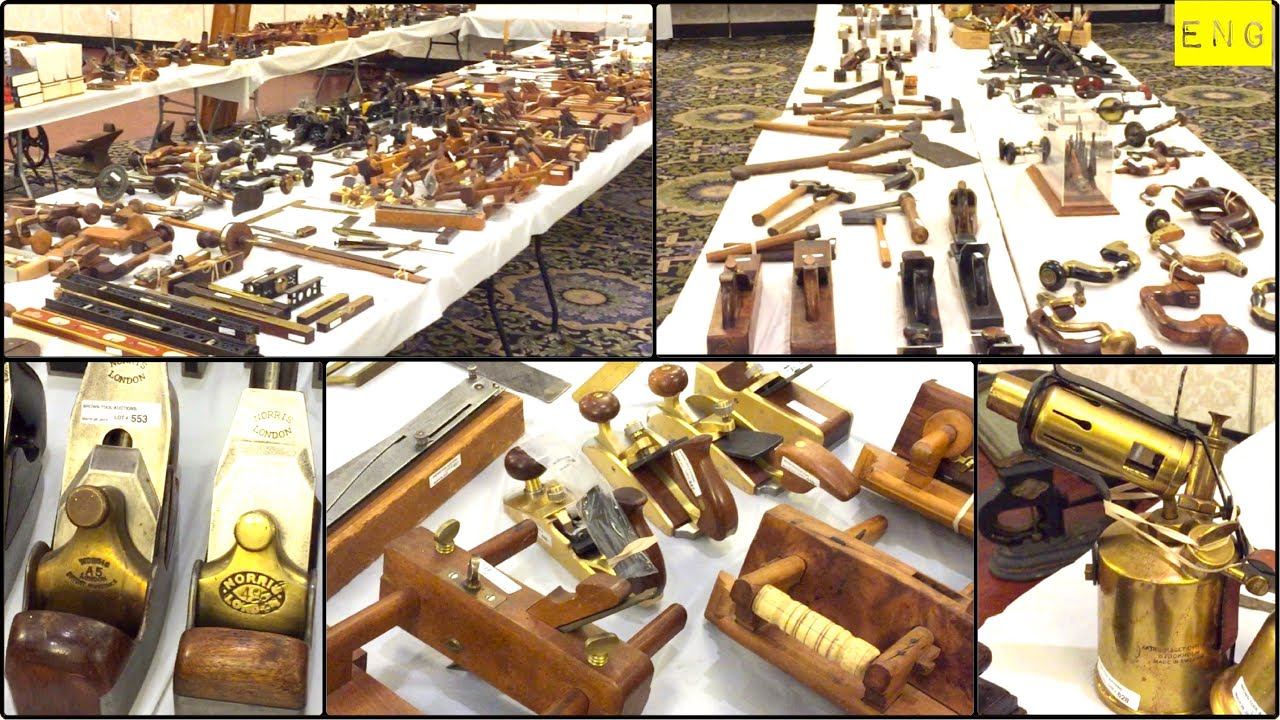 Brown Antique Tool Auction March 28th