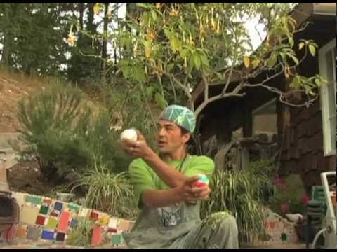 Bagua zoime my california style Juggling fun fu action clown