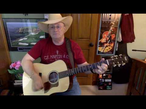 2193  - Long Haired Country Boy -  Charlie Daniels Band cover -  Vocal & acoustic guitar & chords