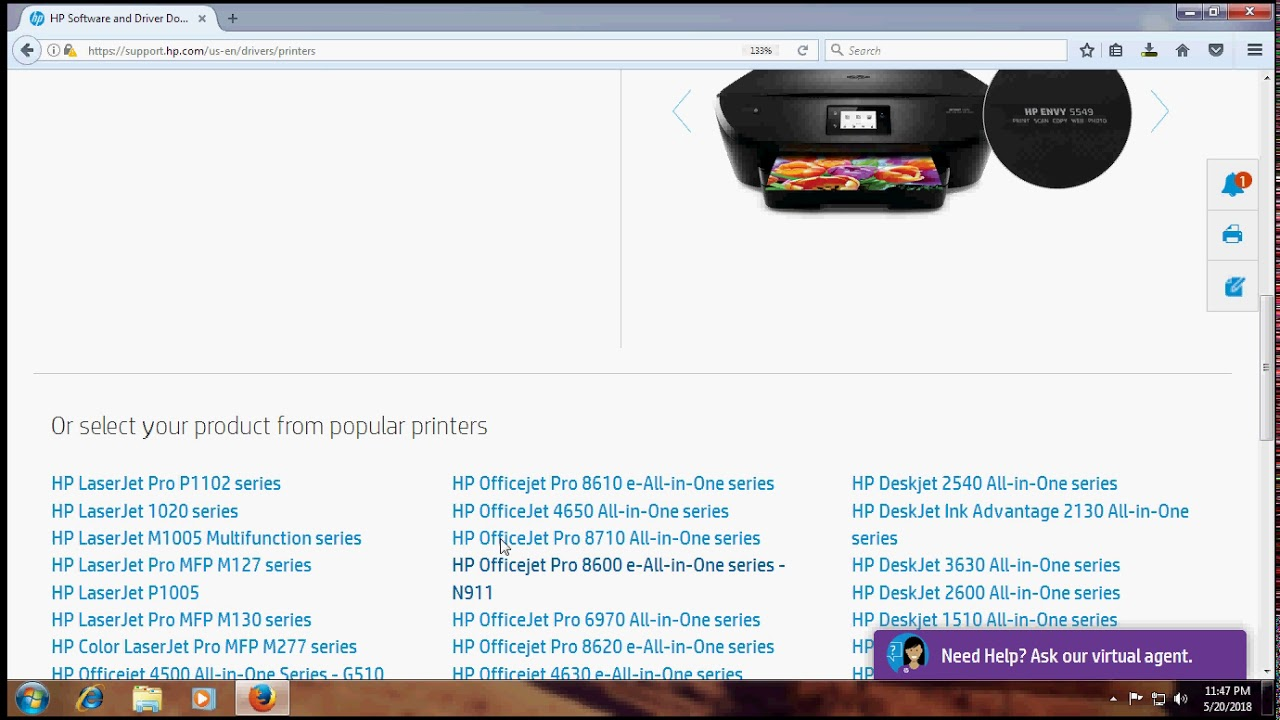 hp deskjet 1510 drivers support