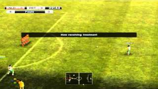 5 Red Cards in a Game: Pro Evolution Soccer 2011