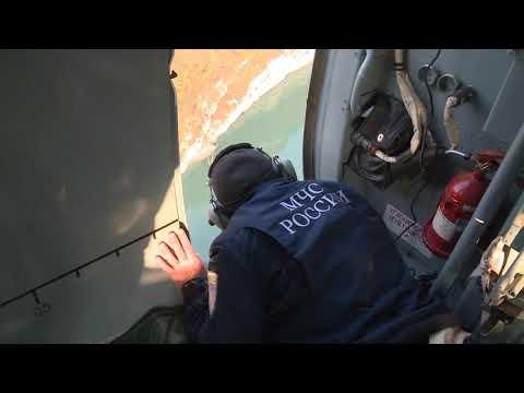 Вертолет Ми-8 МЧС России приступил к тушению очагов возгорания в высокогорной Абхазии