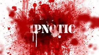 Photoshop - Blut Splatter Schrift