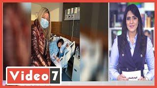 تطورات الحالة الصحية لفيفى عبده  بعد صورته فى المستشفى