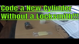 How to code a Lock Cylinder to Original Keys