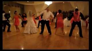 Surprise Wedding dance to The Wobble