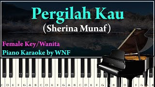 Download Lagu Sherina Munaf - Pergilah Kau Minus One Piano mp3