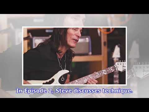 Steve vai - the steve vai guitar method episode 2: technique; video