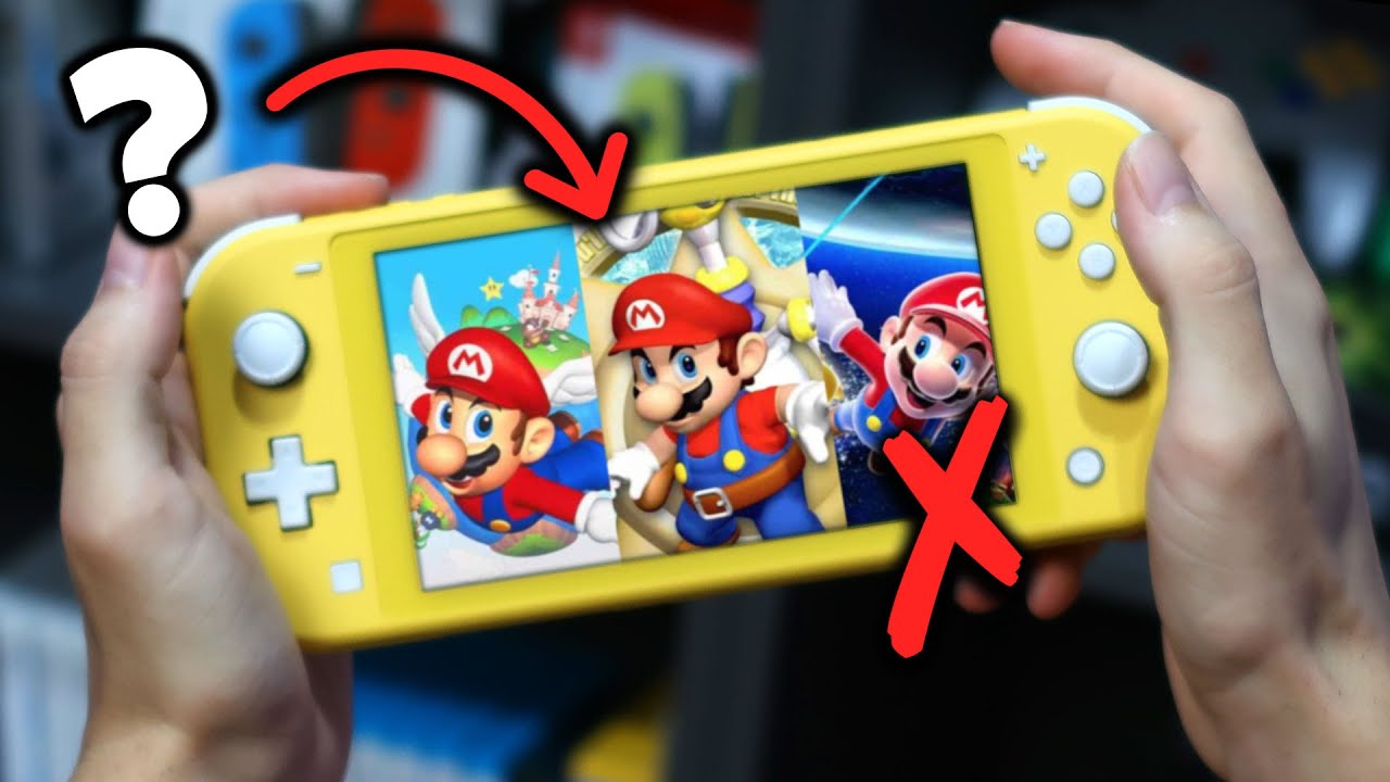¿Se Puede Jugar SUPER MARIO 3D All Stars en una NINTENDO SWITCH LITE? 😢 (OJO con SUPER MARIO GALAXY)