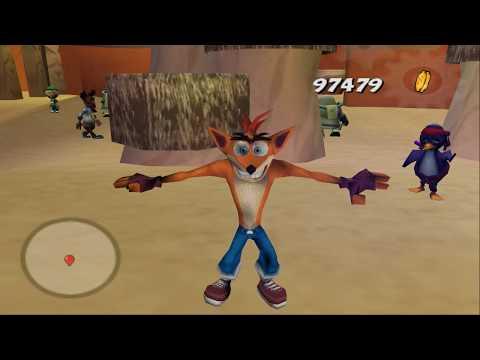 Crash Tag Team Racing (PlayStation 2) - The Cutting Room Floor