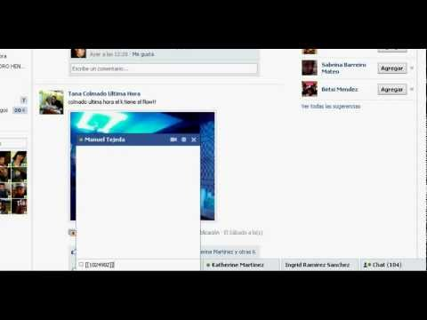Tutorial Como Enviar Mini Fotos Por Chat De Facebook!!