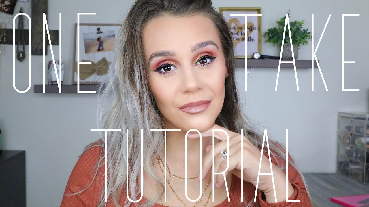 ONE TAKE MAKEUP TUTORIAL   ABSOLUTELY  NO CUTS   25 DAYS OF CHRISTMAS