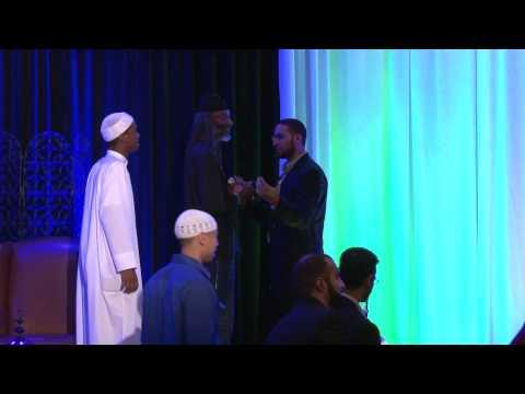 Person accepts Islam