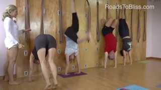 Handstand with Carrie Owerko (Iyengar Yoga Principles)
