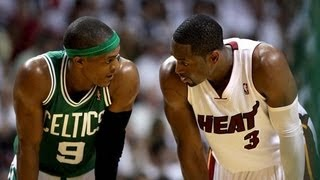 Rajon Rondo playground move against Dwyane Wade - Game 3 Playoffs 2012 [HD]