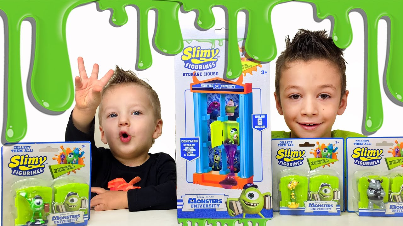 Корпорация монстров Игрушки сюрпризы ! Для детей Kids children