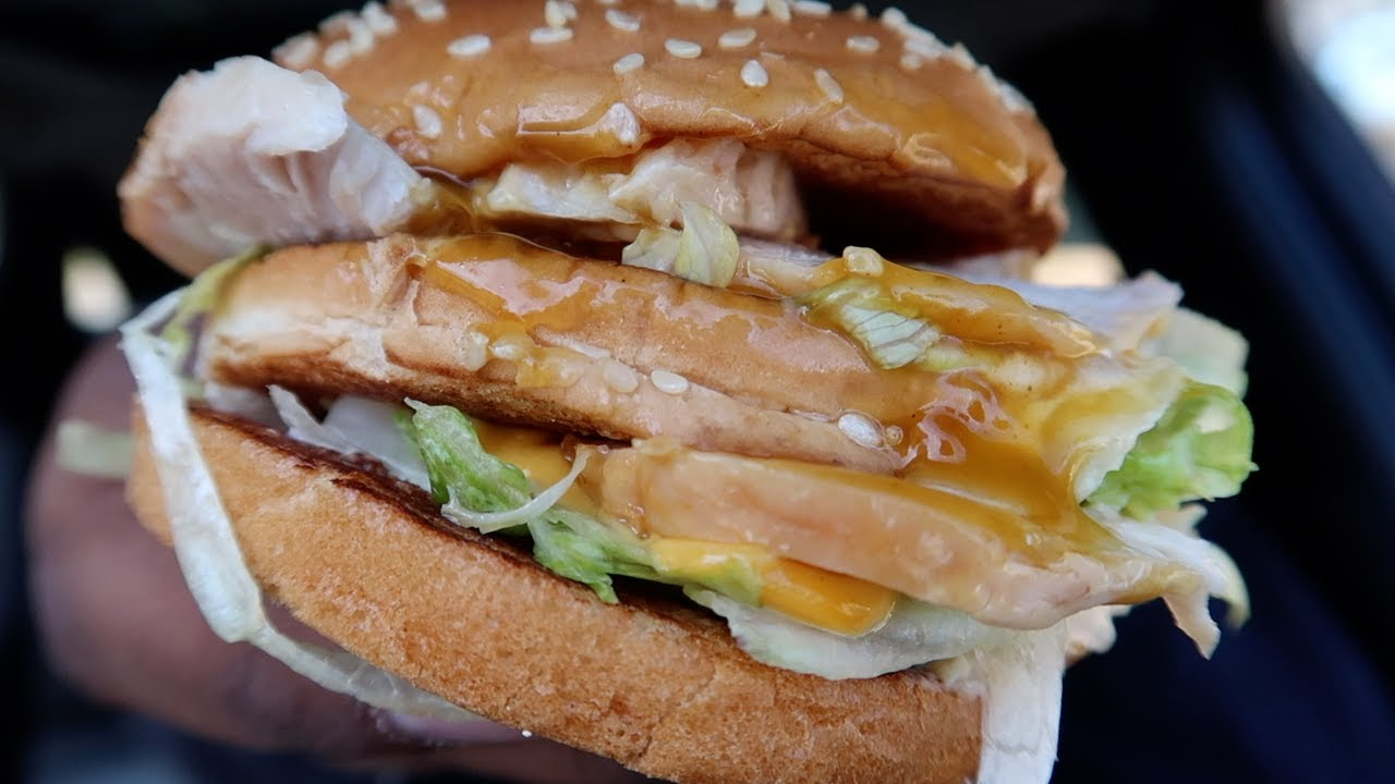 Mcdizzle big ass Mcdonald S Big Turkey Mac Youtube
