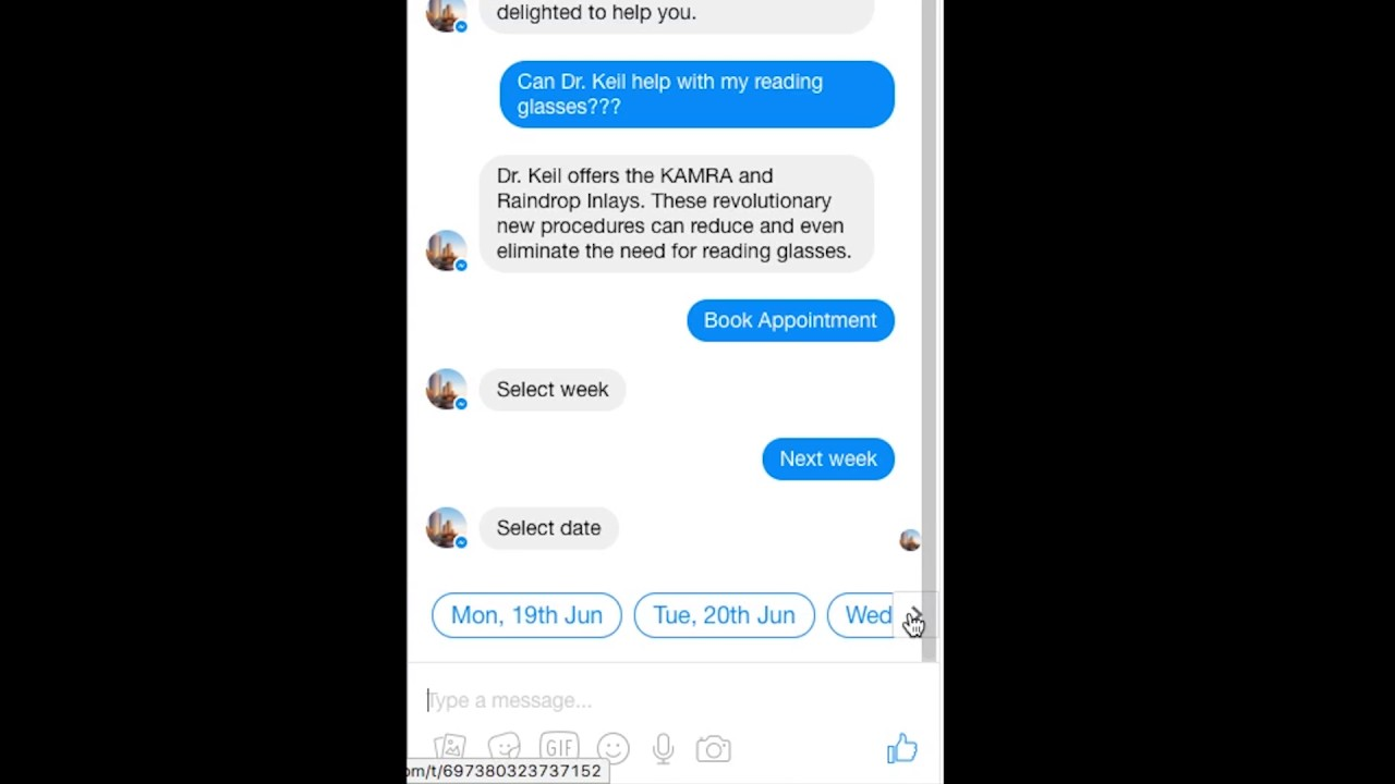 Dating bot messenger