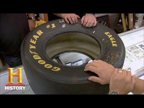Pawn Stars: Dale Earnhardt Signed Tire Season 5  History