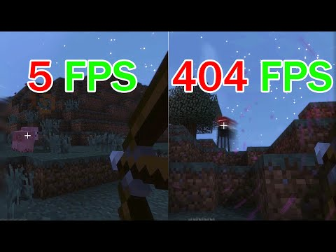 This Is What Playing In 240 FPS Feels Like   Minecraft Frame Rate Comparison 60 Vs 144 Vs 240 FPS
