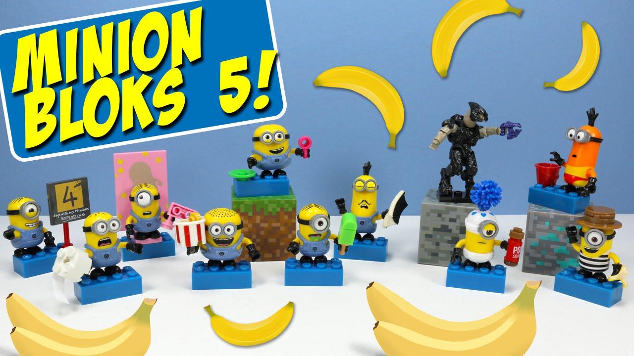 Despicable Me Minions Mega Bloks Series 5 Mystery