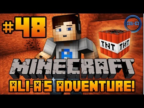 "Minecraft - Ali-A's Adventure #48! - ""TNT TESTING!"""
