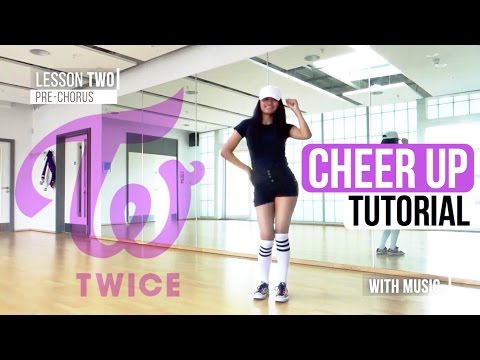 Cover Lagu Mirrored Twice 트와이스 - Cheer Up  Full Dance Tutorial